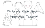 Verloria's Niseke Base Papercraft Template by Verloria