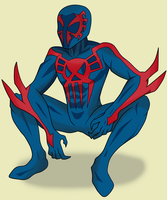 Spider-man 2099 by Waito-chan