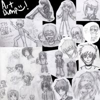 Sketch Dump O_o by Psygirl12