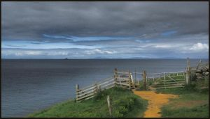 Cliff Path by sags