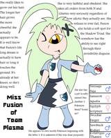 Miss Fusion of Team Plasma by Shadow-Cipher