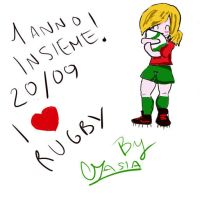 rugby by tokage17