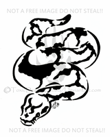 Snake Tattoo by ToxicDragonBlood