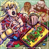 The Age of Nerd - Ken vs. Blanka by RockyDavies