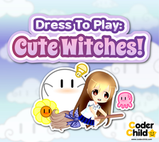 Dress To Play: Cute Witches! FrontBox by CoderChild