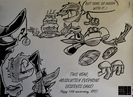 RaymanPC 10th Anniversary Contest Entry by GNineify