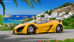 Summer Breeze ( Lamborghini Sinistro ) by mcmercslr