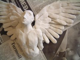 Maquette for Angel by Nectarine