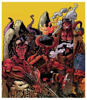 Hellking And Sons COLORED by BongzBerry