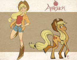 My Little Pony - Applejack by LyOrixa