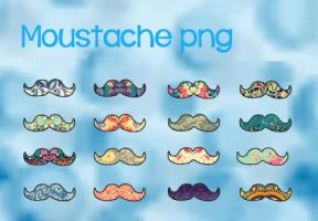 +Moustache PNG by seredirectioner