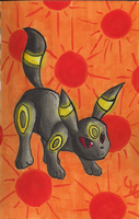 Sunny Day Umbreon by PracticallyGeeky