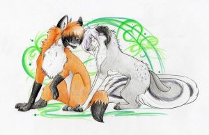 Look into my eyes 8D by Mandy-wolf