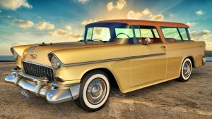 1955 Chevrolet Nomad by SamCurry