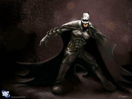 Batman Begins by ninjaink