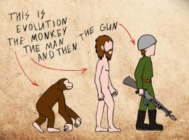 This is evolution by Anna-Malina