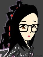 Cartoon Alodia-cartoon by johnlloydbalucanag
