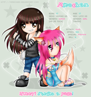 Mire and Chibime by Mirechan