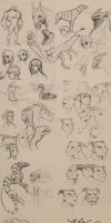 sketchdump August 2012 by Sythgara