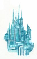 Blue towercluster by SkyWookiee