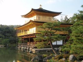 Kinkaku-ji Temple 04, Kyoto, Japan by mac-chipsie
