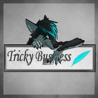 Tricky Business EP Cover by GreyeWolf