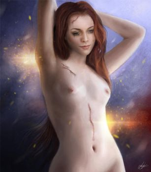 Naked and Wounded by Gr4fic
