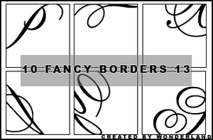 Fancy Icon Borders 13 by Foxxie-Chan