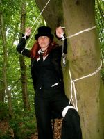rope in the Woods 7 of 7 by gnomeofmaille