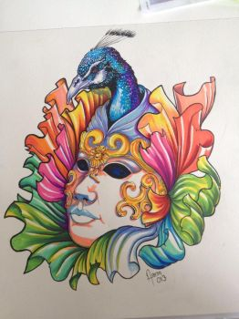 CARNIVAL MASK by ZOOMZOOMMM