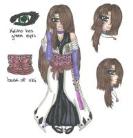 Bleach OC: Keiko Akiko (UPDATED) by shy-orchid-ghost