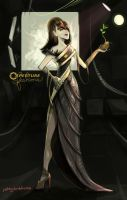 GLaDOS evening gown by Poj5