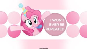 I won't ever be repeated by Shawnyall