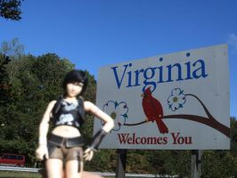 Yuffie's in Virginia by kingdomhearts800