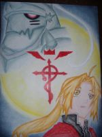 Elric Brothers by x3KHloverx3