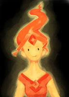 flame princess by cephr