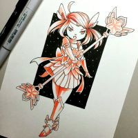 Inktober Day 8 ! Lux - Star Guardian Fanart by Yuuki-Tachi