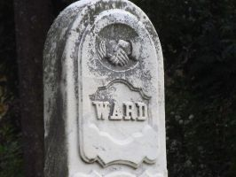 Close Up Gravestone by NostalgiaPhotos