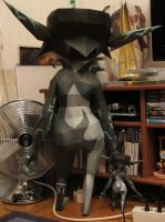 assembly: life size Midna with miniMidna back by minidelirium