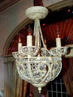 Vintage Chandelier by PrincessInHeaven