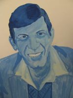 Mr. Nimoy by GoodOldBaz