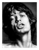 Mick Jagger by straycat27
