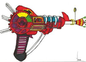Nazi Zombies Ray Gun by dead5cout