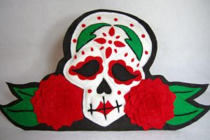 Rose Sugar Skull - Available by AlwaysSuagarCoated
