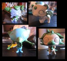 Who's that Pokemon? (LPS customs) by pia-chu