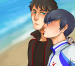 Souharu for SASO Bonus Round by Coyoteclaw11