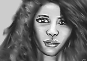 Woman face study n65 by lv888