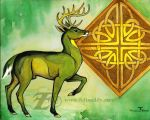 Celtic Stag by felixxkatt