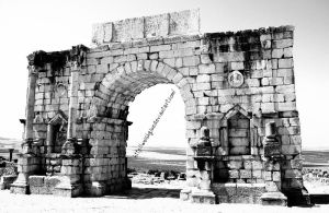 Volubilis, the triumphal arch by WelshGlue