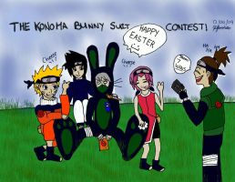 The Bunny Suit Contest by jokes-on-gigi